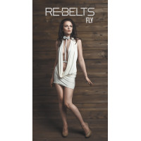 Портупея-чокер Fly White 7723rebelts