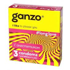 Презервативы GANZO Long Love No3