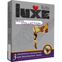 Презервативы LUXE №3  Big Box Rich Collection
