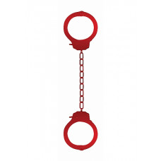 Наручники Pleasure Legcuffs Red SH-OU008Red