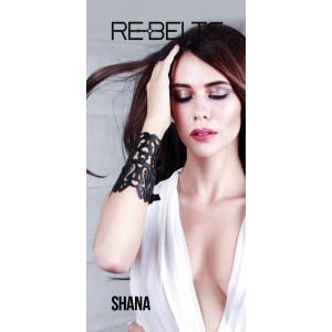Браслет резной Shana Black 7714rebelts