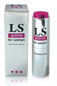 Спрей для женщин (стимулятор) LOVESPRAY ACTIVE'' 18гр